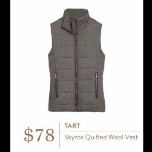 NWT Lemon Tart STITCH FIX Skyros Quilted Wool Vest